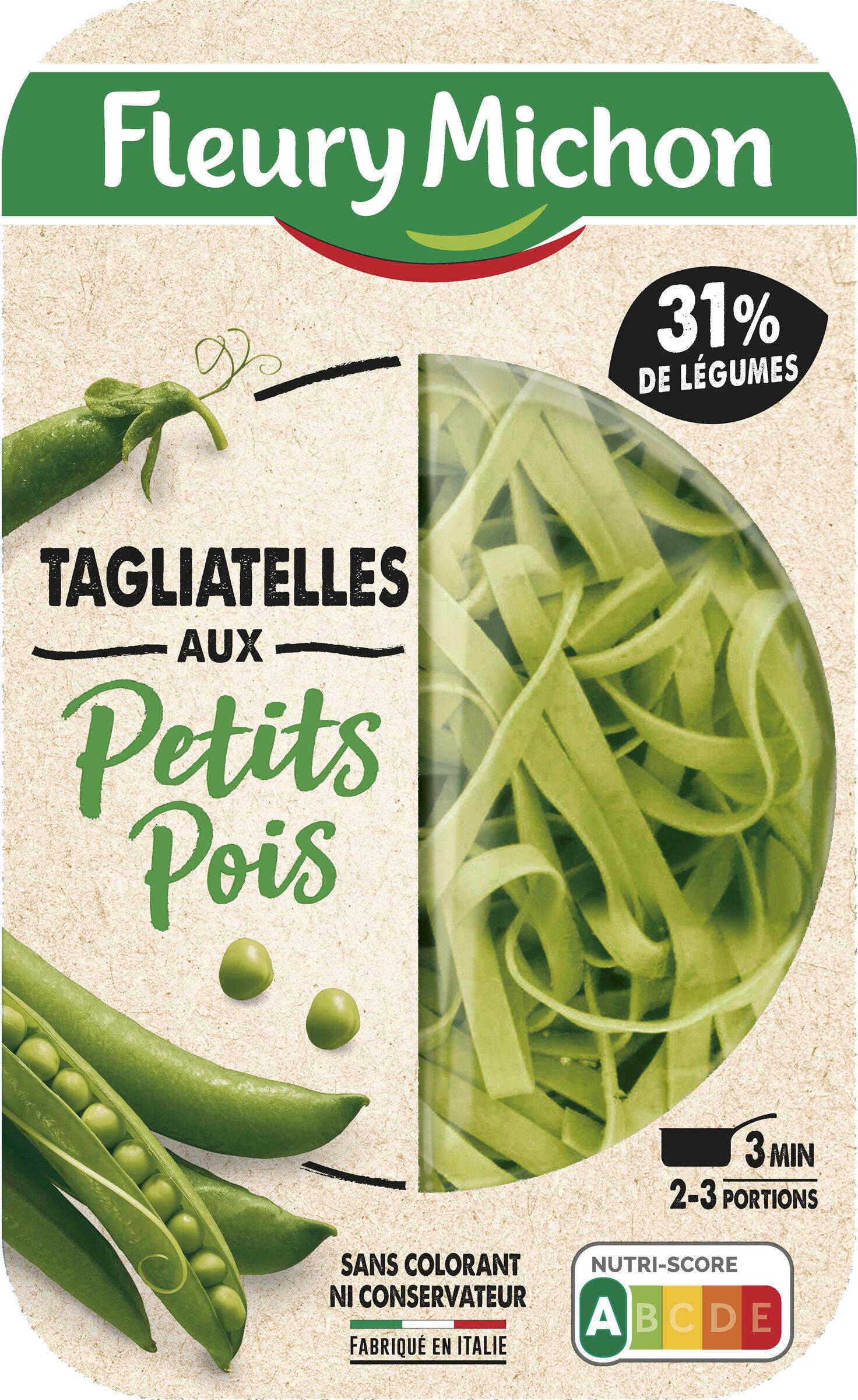 Tagliatelles aux petits pois - Produit - fr