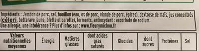 Le supérieur cuit à l'étouffée - 4tr - Ingredienti