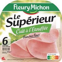 Le supérieur cuit à l'étouffée - tranches fines - 6tr - Produit - fr