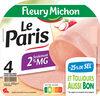 Le Paris seulement 2% MG - 25% de sel* - 4 tranches fines - Product