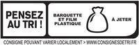 Le Paris seulement 2% MG - 25% de sel* - 4 tranches fines - Instruction de recyclage et/ou informations d'emballage - fr
