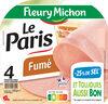 Le Paris fumé - 25% de sel* - 4 tr. - Product