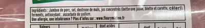 Le Paris sans couenne - 4tr - Ingredientes - fr