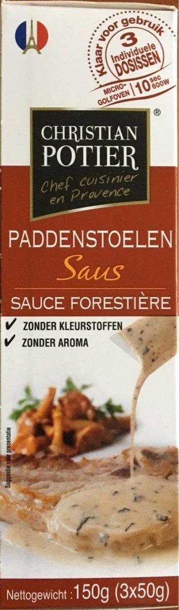 Sauce Forestière Christian Potier - Produit