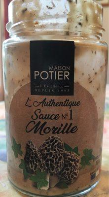 Sauce Morilles - Produit