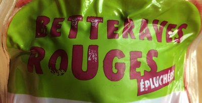 Betterave Rouges - Ingrédients - fr