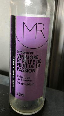 Vinaigre et pulpe de fruit de la passion - Product