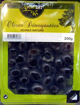 Olives dénoyautées noires nature Arômatt - Product - fr