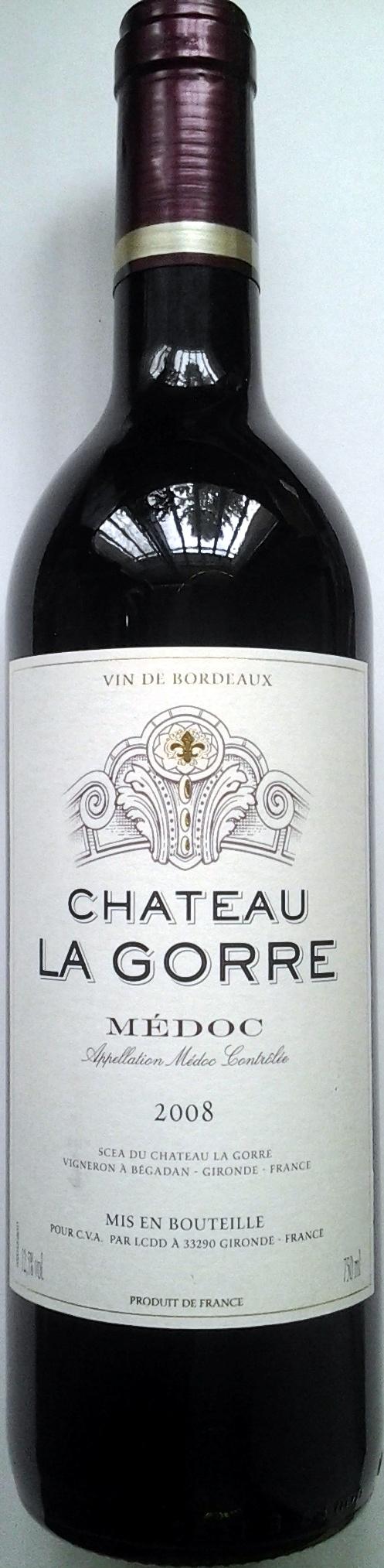 Chateau La Gorre 2008 - Produit