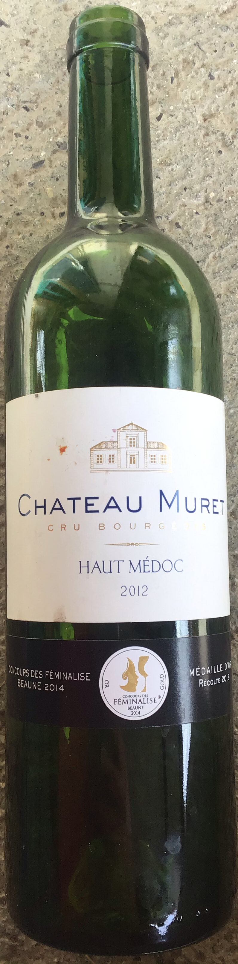 Haut Médoc 2012 - Product - fr