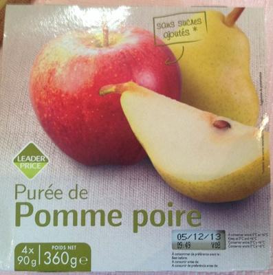 Purée de pomme poire - Produkt - fr