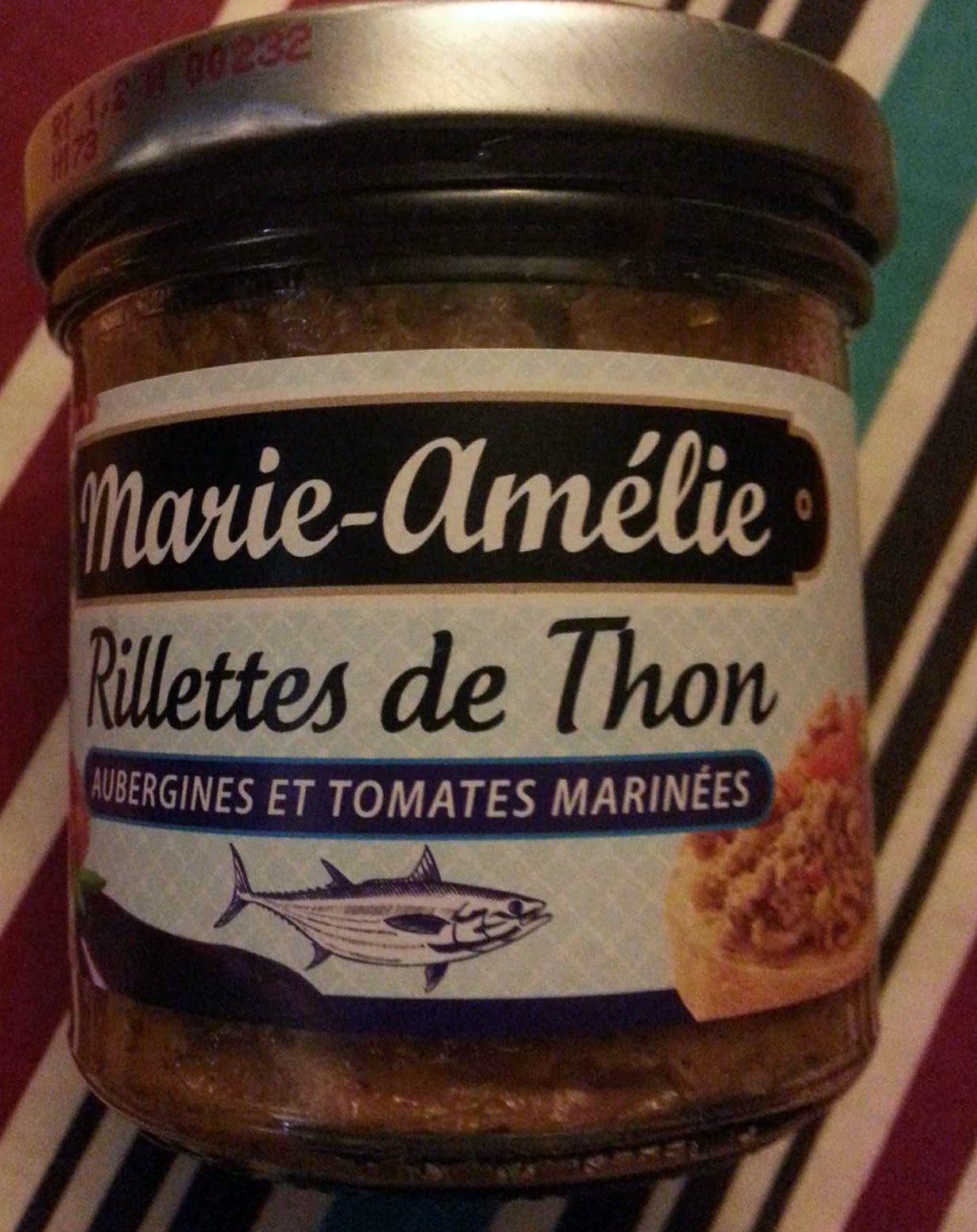 Rillettes de Thon Aubergines et Tomates Marinées - Product