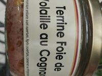 Terribe de foie de volaille au cognac - Produit - fr