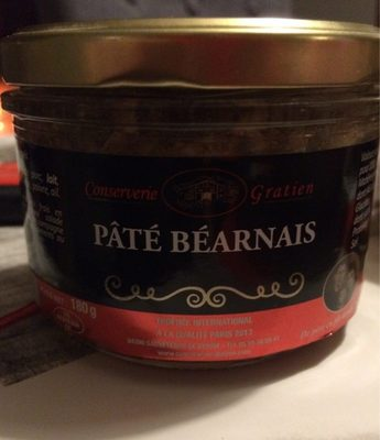 Pate bearnais - Produit