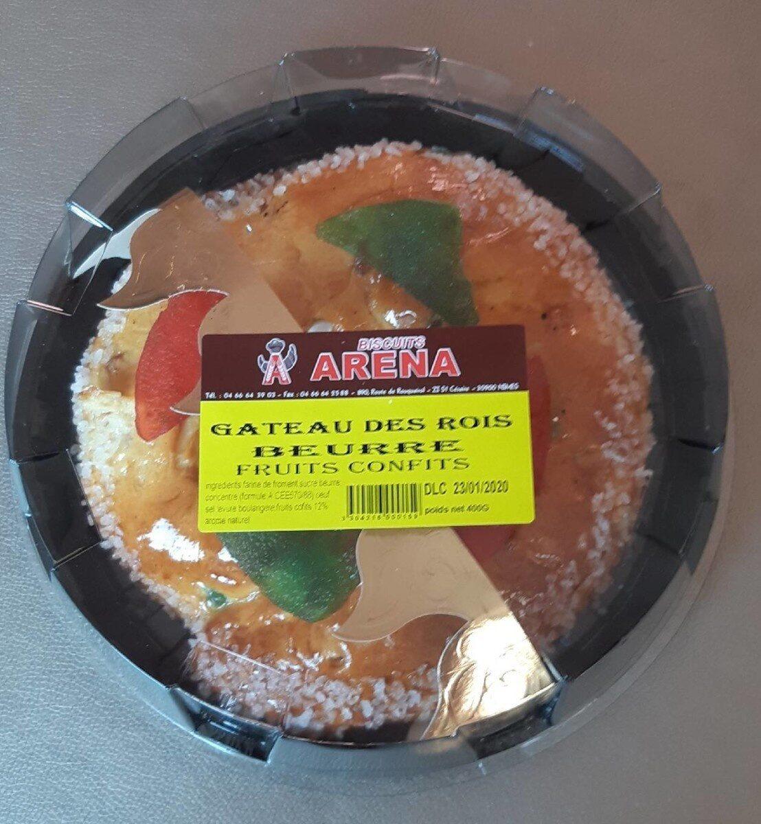Gateau des rois beurre fruits confits - Produit