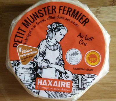 Petit Munster Fermier au Lait Cru - Product - fr