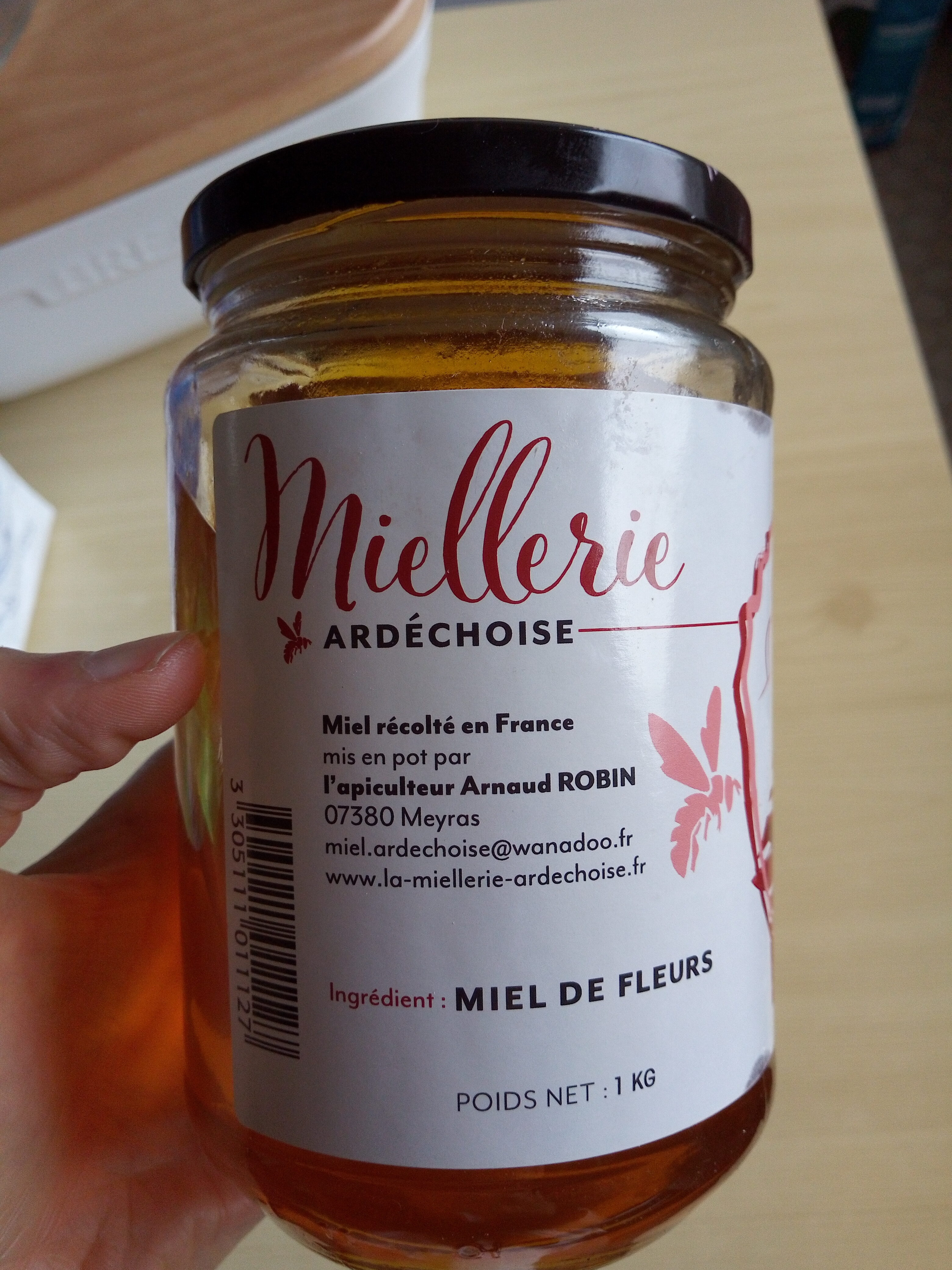 Miel de Fleurs - Recycling instructions and/or packaging information - fr