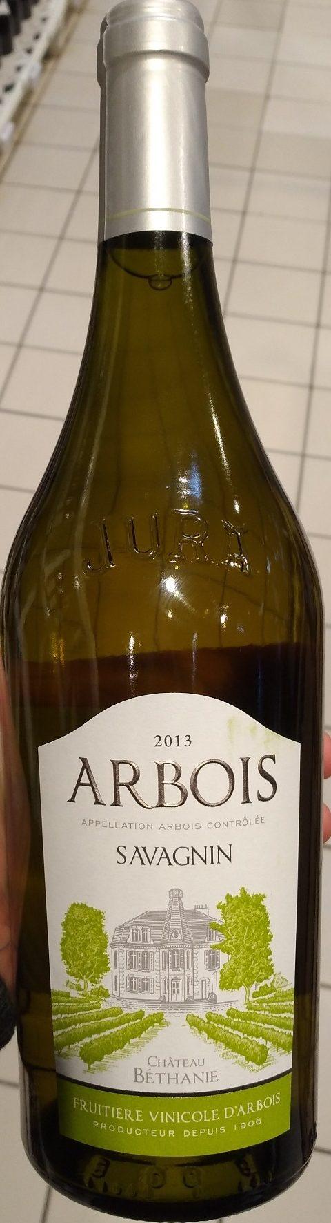 Arbois Savagnin Château Béthanie 2013 - Product - fr