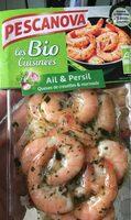 Persillade de Crevettes Bio Ail et Persil - Produit - fr