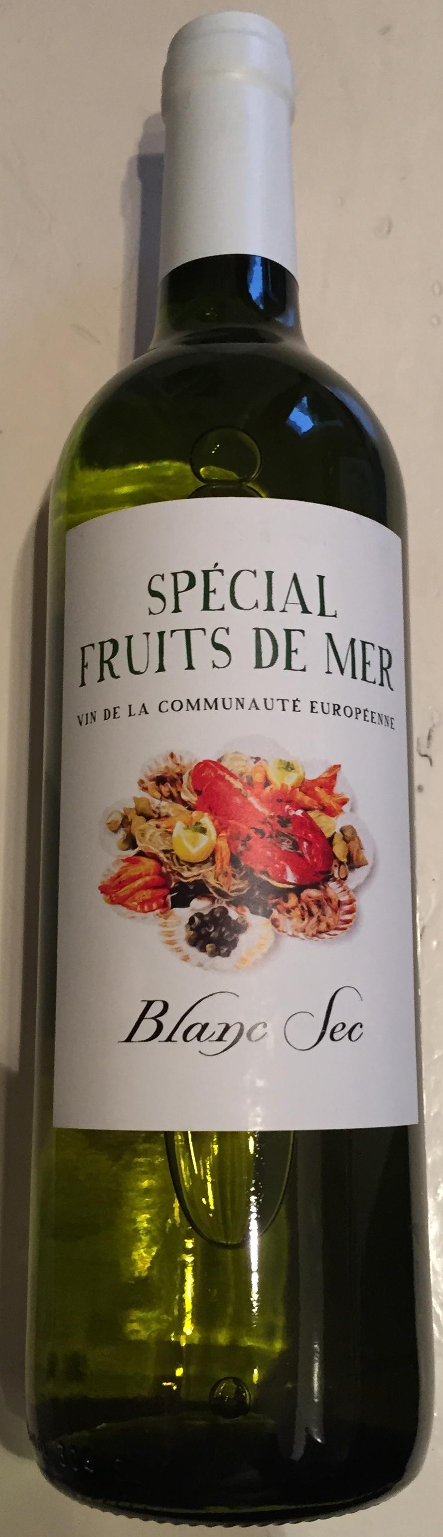 Vin Blanc Sec Special Fruits De Mer Guiraud 75cl