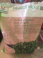 Epinards hachés - Produit - fr