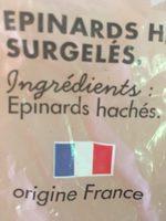 Epinards hachés - Ingrédients - fr