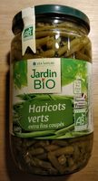 Haricots verts extra fins coupés bio - Producto