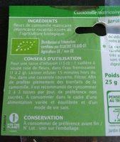 Camomille Matricaire Bio - Ingrediënten