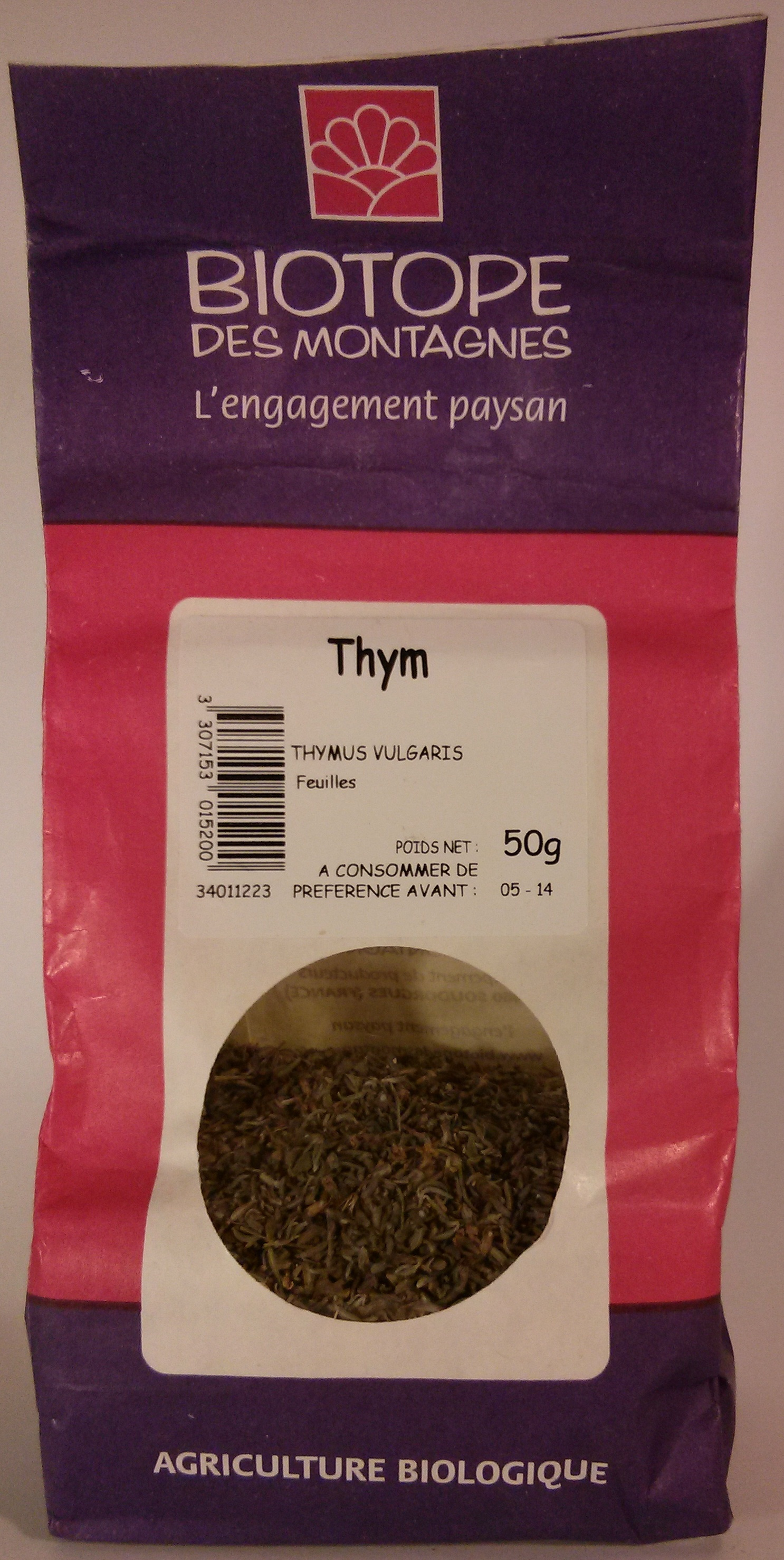 Thym - Product