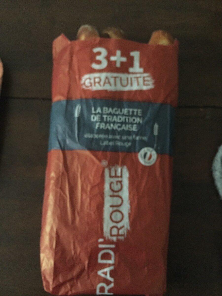 La baguette de tradition Française - Istruzioni per il riciclaggio e/o informazioni sull'imballaggio - fr