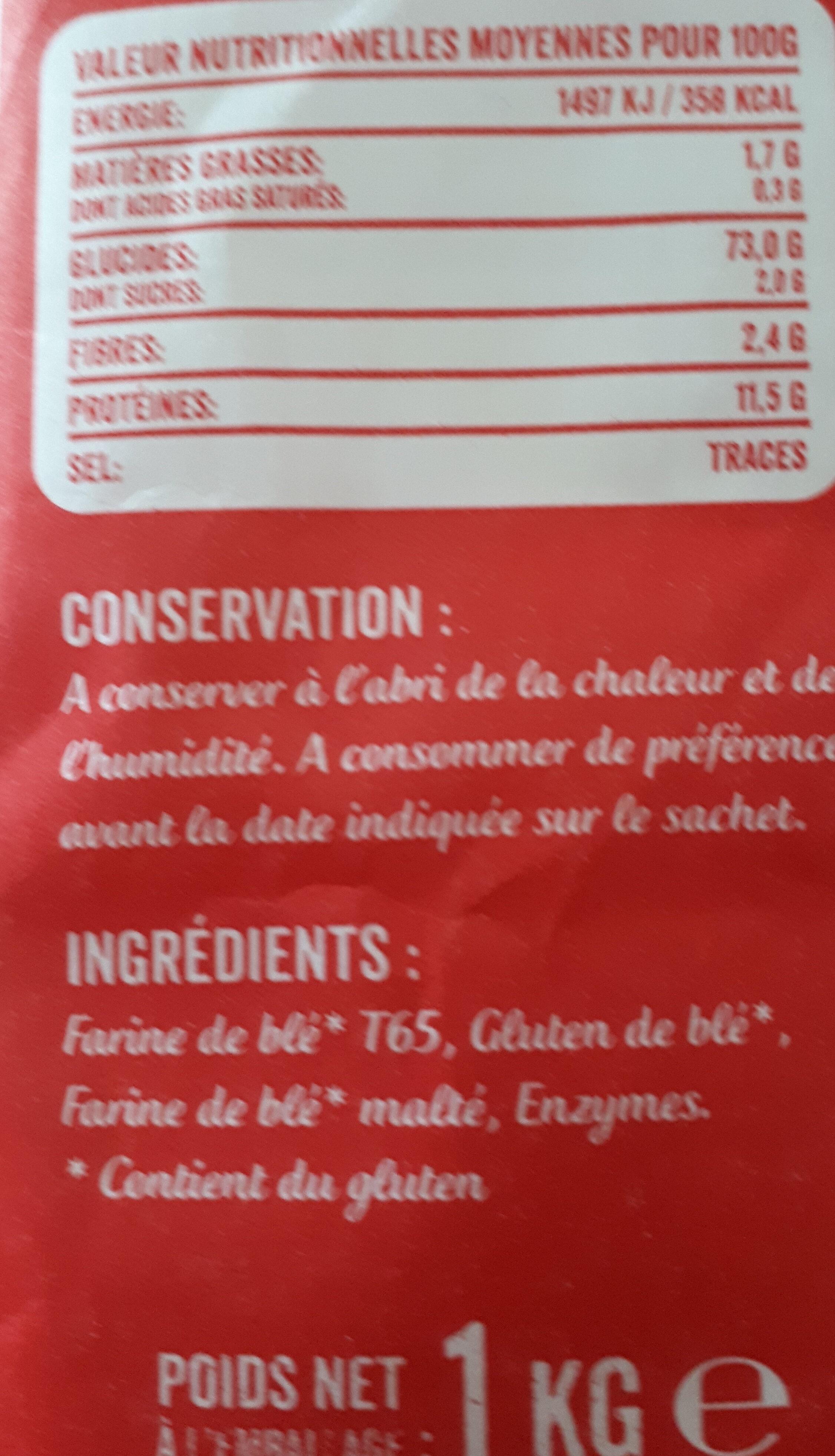 Farine de blé - Ingrediënten - fr