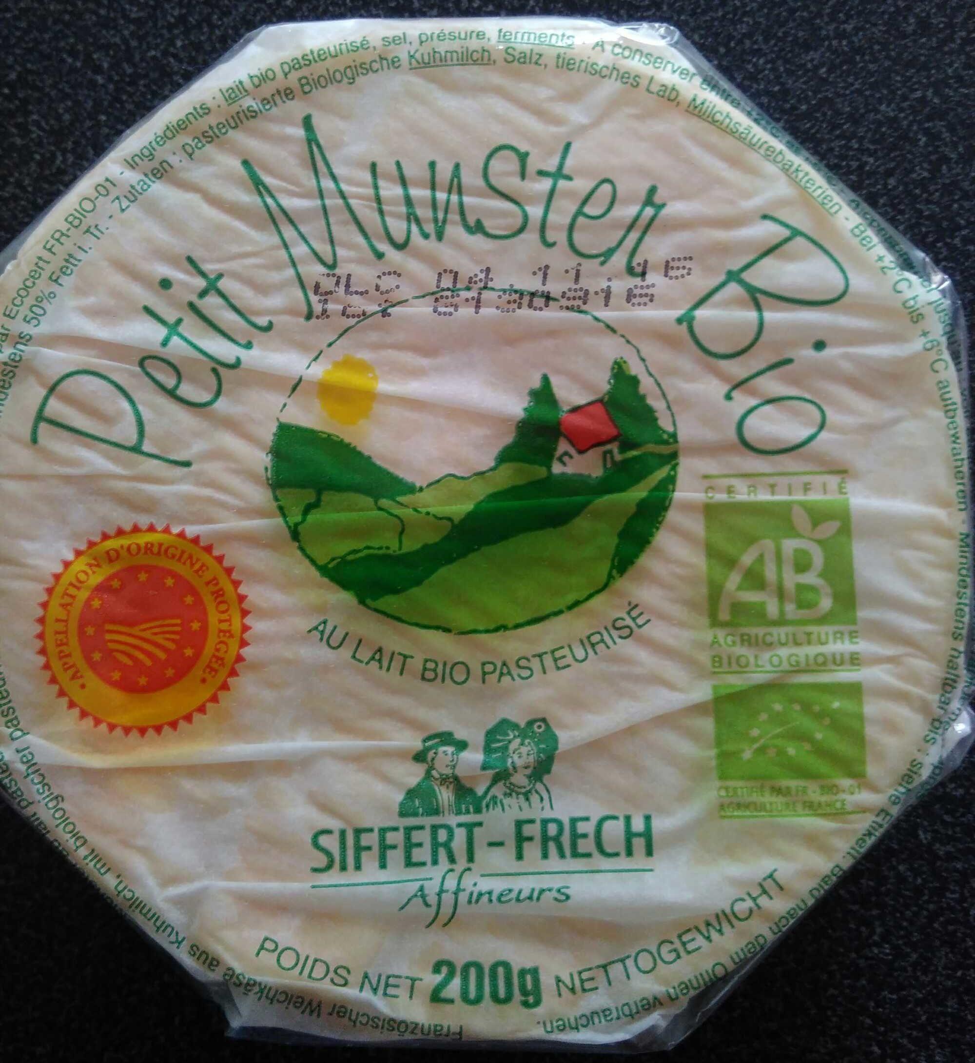 Petit Munster Bio - Produit - fr