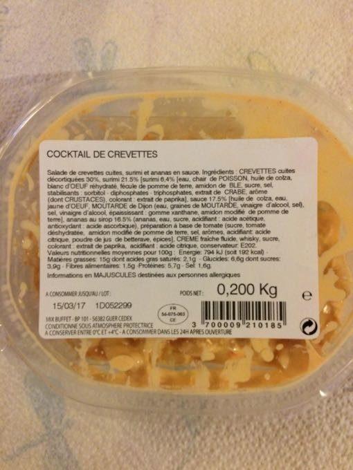 Cocktail de Crevettes - Produit - fr