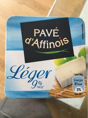 Pavé d'Affinois Léger - Produit