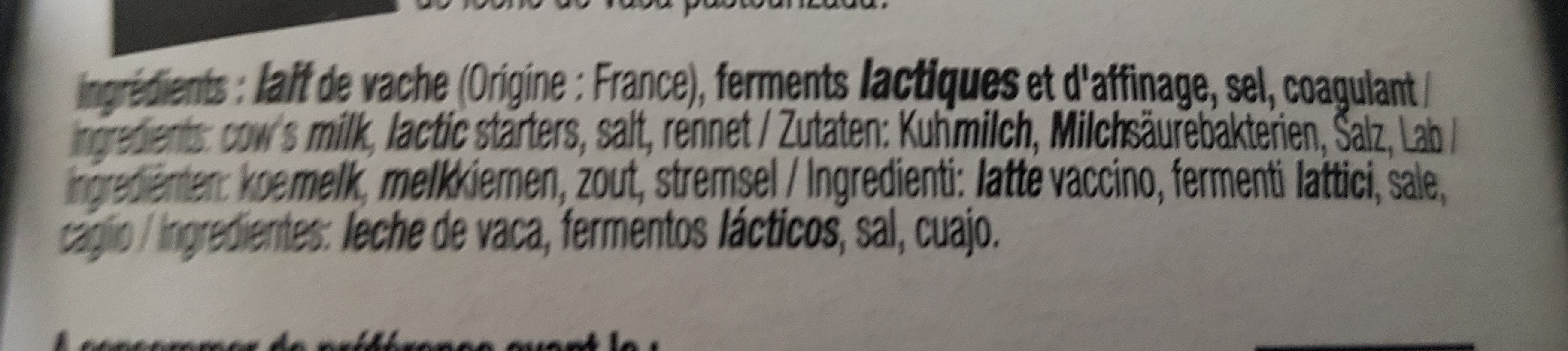 Léger 9% mat gr. - Ingredients - fr
