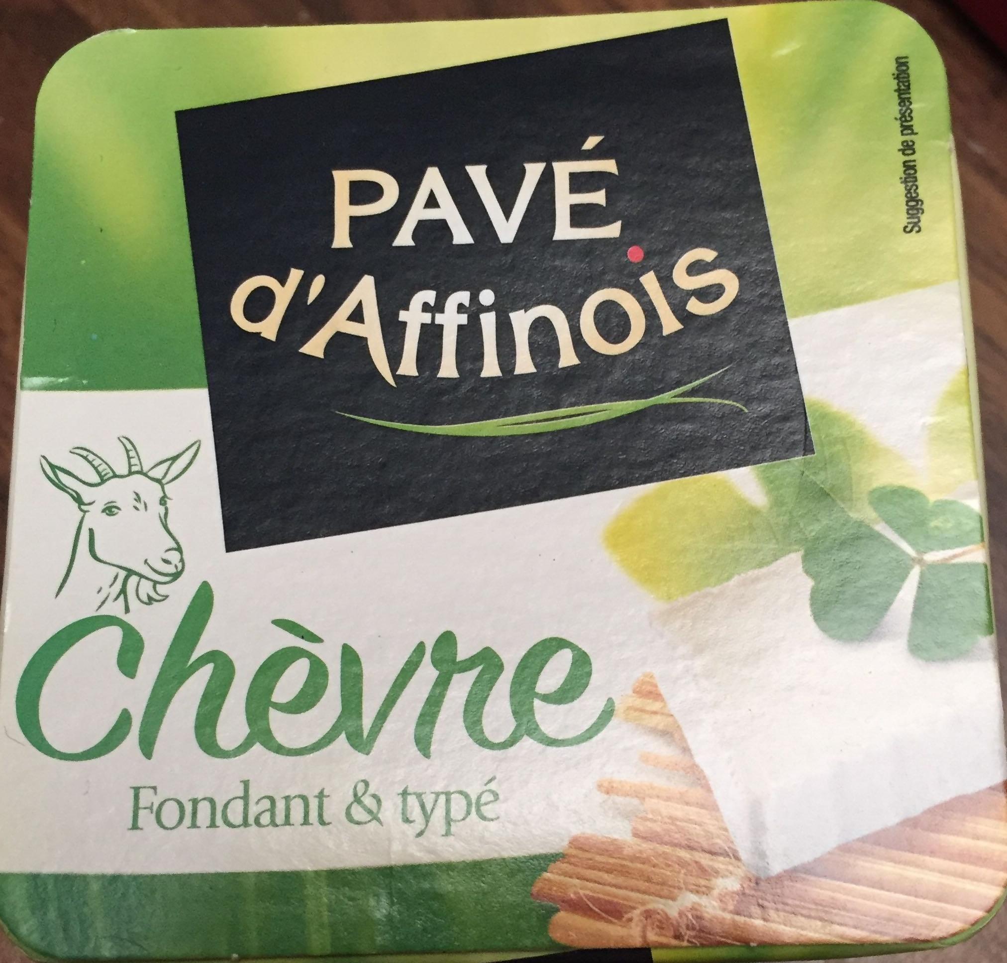 Pavé d'Affinois Chèvre (22 % MG) - Product - fr