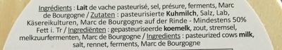 Époisses - Ingredients - fr