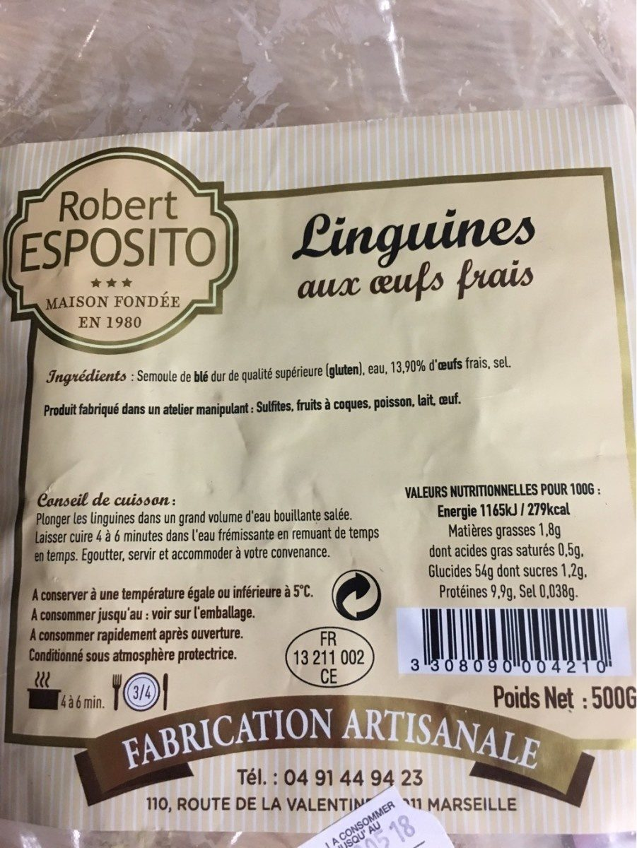 Linguine - Product - fr