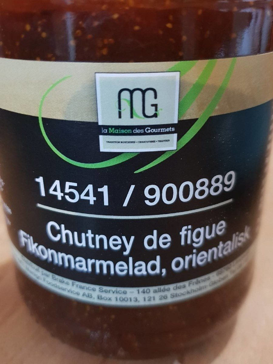 Chutney de figues - Product