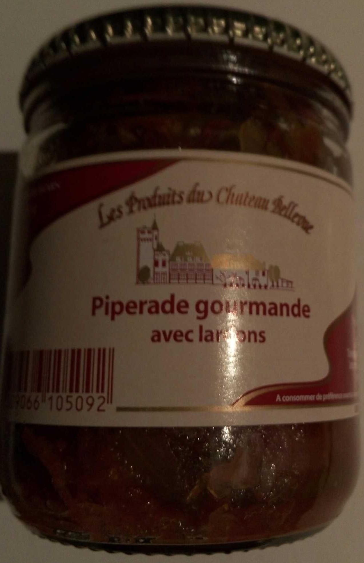 Piperade gourmande avec lardons - Product - fr