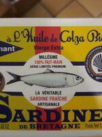 Sardine a L'huile De Colza Bio - Produit - fr