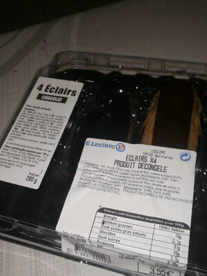 Eclairs au chocolat - Informations nutritionnelles - fr