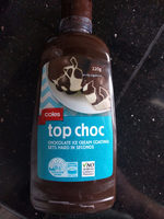 Coles Top Choc - Product
