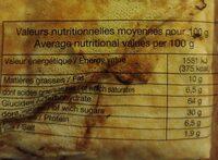 Crêpes Bretonnes Pur Beurre X12 (300g) - Informations nutritionnelles - fr
