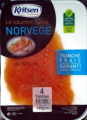 Saumon fumé Norvège - Product - fr