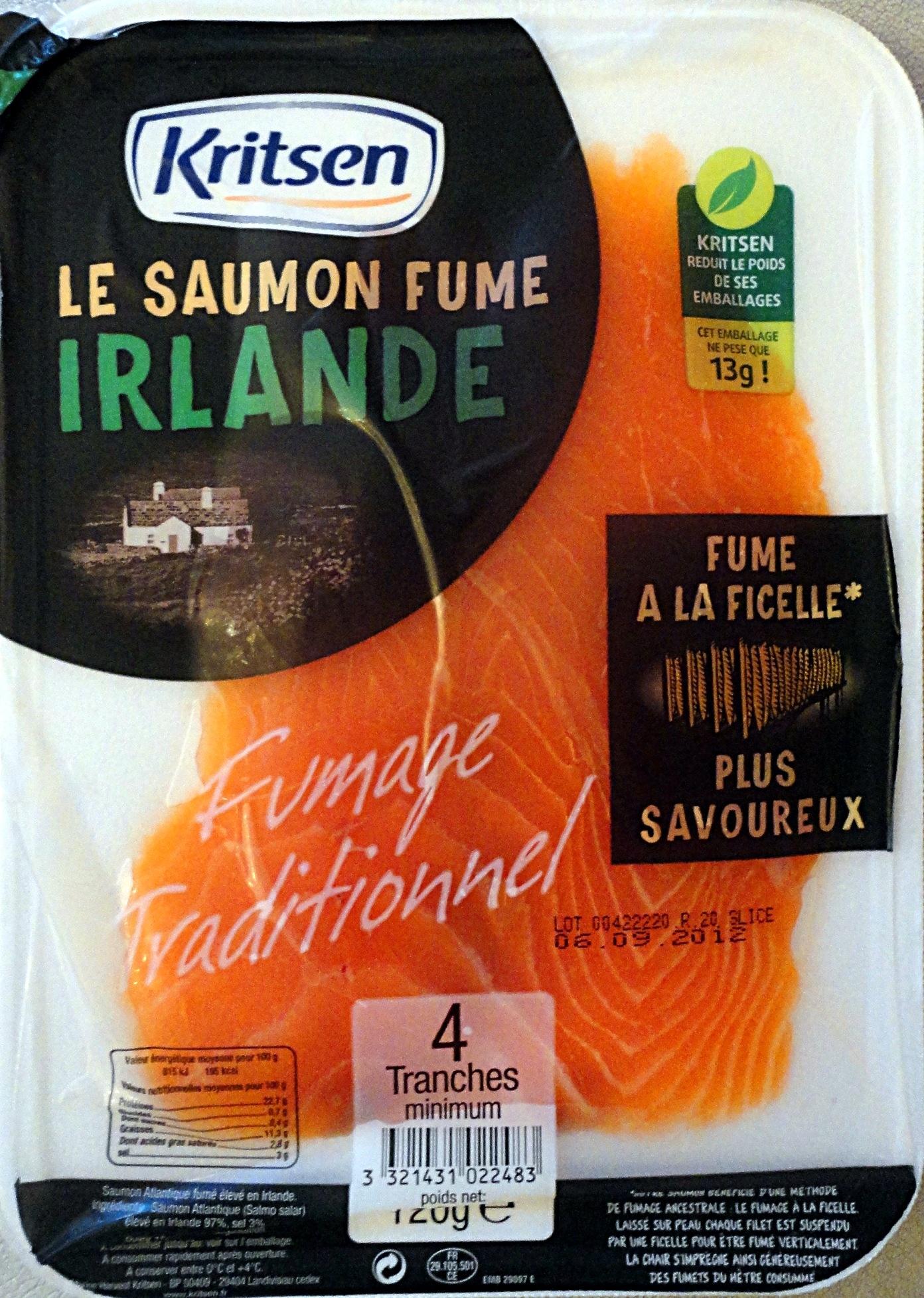 Saumon Fumé Irlande - Product