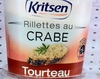 Rillettes au crabe tourteau - Product