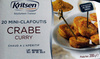 Mini Clafoutis Crabe Curry - Produit