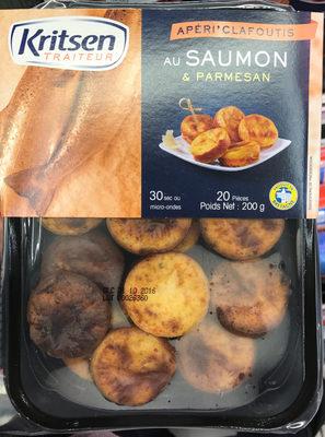 Apéri' Clafoutis au Saumon & Parmesan - Product - fr