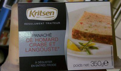 Panaché de homard, crabe et langouste - Produit - fr